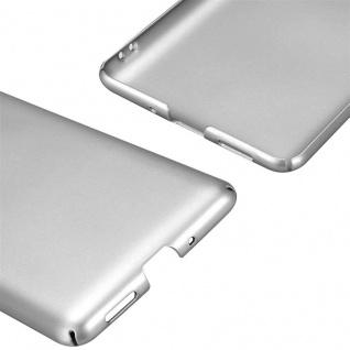 Cadorabo Hülle für Nokia 8 2017 in METALL SILBER - Hardcase Handyhülle aus Plastik gegen Kratzer und Stöße - Schutzhülle Bumper Ultra Slim Back Case Hard Cover - Vorschau 5