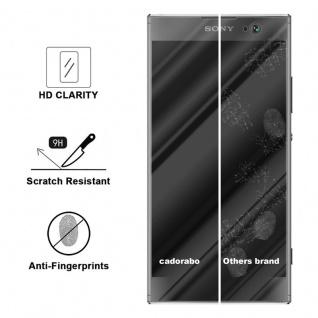 Cadorabo Panzer Folie für Sony Xperia XA2 - Schutzfolie in KRISTALL KLAR - Gehärtetes (Tempered) Display-Schutzglas in 9H Härte mit 3D Touch Kompatibilität - Vorschau 3