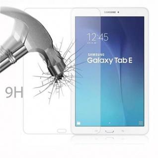 Cadorabo Panzer Folie für Samsung Galaxy TAB E (9.7 Zoll) - Schutzfolie in KRISTALL KLAR - Gehärtetes (Tempered) Display-Schutzglas in 9H Härte mit 3D Touch Kompatibilität - Vorschau 3