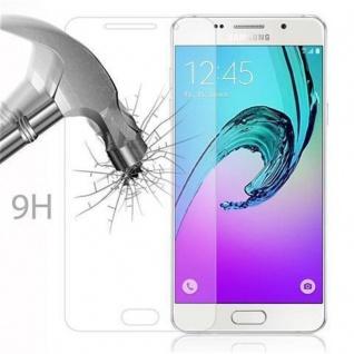 Cadorabo Panzer Folie für Samsung Galaxy A9 2016 - Schutzfolie in KRISTALL KLAR - Gehärtetes (Tempered) Display-Schutzglas in 9H Härte mit 3D Touch Kompatibilität - Vorschau 3