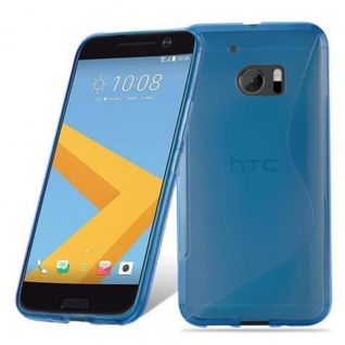 Cadorabo Hülle für HTC 10 (One M10) in ROYAL BLAU - Handyhülle aus flexiblem TPU Silikon - Silikonhülle Schutzhülle Ultra Slim Soft Back Cover Case Bumper - Vorschau 2