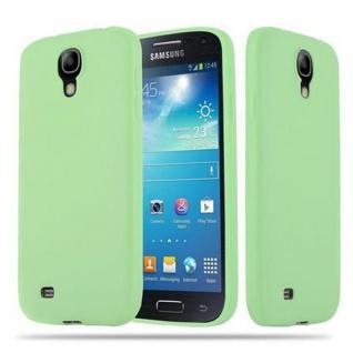 Cadorabo Hülle für Samsung Galaxy S4 in CANDY PASTELL GRÜN - Handyhülle aus flexiblem TPU Silikon - Silikonhülle Schutzhülle Ultra Slim Soft Back Cover Case Bumper