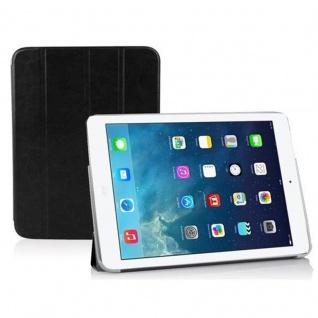 Cadorabo - Apple iPad AIR Ultra Slim Smart Cover Schutzhülle im Book Style mit Auto Wake Sleep und Standfunktion - Case Cover Bumper Etui in DOMINO SCHWARZ
