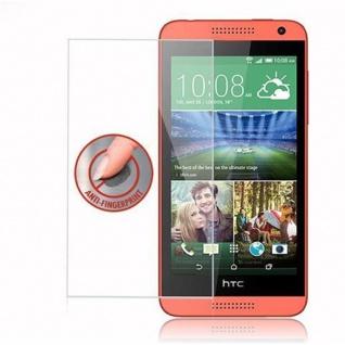 Cadorabo Panzer Folie für HTC Desire 610 - Schutzfolie in KRISTALL KLAR - Gehärtetes (Tempered) Display-Schutzglas in 9H Härte mit 3D Touch Kompatibilität - Vorschau 4