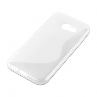 Cadorabo Hülle für Samsung Galaxy A5 2017 in HALB TRANSPARENT ? Handyhülle aus flexiblem TPU Silikon ? Silikonhülle Schutzhülle Ultra Slim Soft Back Cover Case Bumper - Vorschau 4