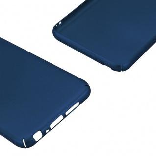 Cadorabo Hülle für HTC One A9 in METALL BLAU - Hardcase Handyhülle aus Plastik gegen Kratzer und Stöße - Schutzhülle Bumper Ultra Slim Back Case Hard Cover - Vorschau 5