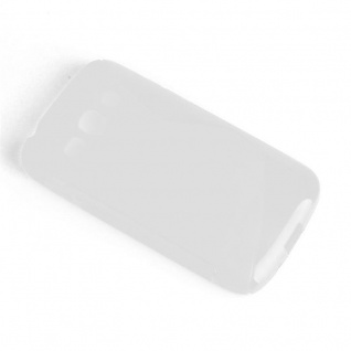 Cadorabo Hülle für Samsung Galaxy ACE 3 in HALB TRANSPARENT ? Handyhülle aus flexiblem TPU Silikon ? Silikonhülle Schutzhülle Ultra Slim Soft Back Cover Case Bumper - Vorschau 3
