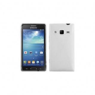Cadorabo Hülle für Samsung Galaxy EXPRESS 2 in MAGNESIUM WEIß ? Handyhülle aus flexiblem TPU Silikon ? Silikonhülle Schutzhülle Ultra Slim Soft Back Cover Case Bumper