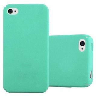 Cadorabo Hülle für Apple iPhone 4 / iPhone 4S in FROSTY GRÜN - Hardcase Handyhülle aus Plastik gegen Kratzer und Stöße - Schutzhülle Bumper Ultra Slim Back Case Hard Cover