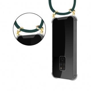 Cadorabo Handy Kette für Huawei MATE 20 in ARMEE GRÜN - Silikon Necklace Umhänge Hülle mit Gold Ringen, Kordel Band Schnur und abnehmbarem Etui ? Schutzhülle - Vorschau 5