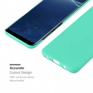 Cadorabo Hülle für Samsung Galaxy S8 PLUS in FROSTY GRÜN - Hardcase Handyhülle aus Plastik gegen Kratzer und Stöße - Schutzhülle Bumper Ultra Slim Back Case Hard Cover - Vorschau 5