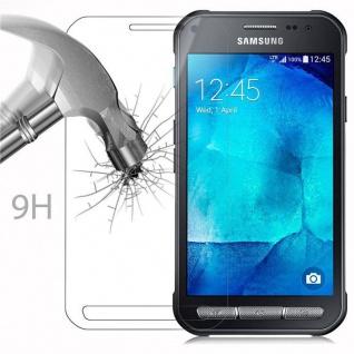 Cadorabo Panzer Folie für Samsung Galaxy XCover 3 - Schutzfolie in KRISTALL KLAR - Gehärtetes (Tempered) Display-Schutzglas in 9H Härte mit 3D Touch Kompatibilität - Vorschau 3