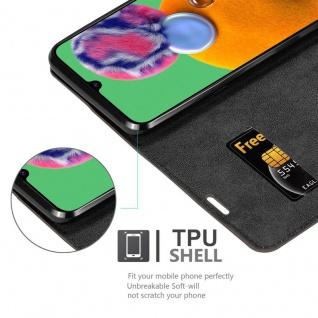 Cadorabo Hülle für Samsung Galaxy A90 5G in KAFFEE BRAUN - Handyhülle mit Magnetverschluss, Standfunktion und Kartenfach - Case Cover Schutzhülle Etui Tasche Book Klapp Style - Vorschau 4