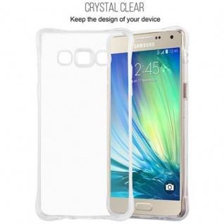 Cadorabo Hülle für Samsung Galaxy A5 2015 - Hülle in KOMPLETT TRANSPARENT ? Handyhülle aus TPU Silikon mit Schlaufe im Small Waist Design - Silikonhülle Schutzhülle Ultra Slim Soft Back Cover Case Bumper - Vorschau 2