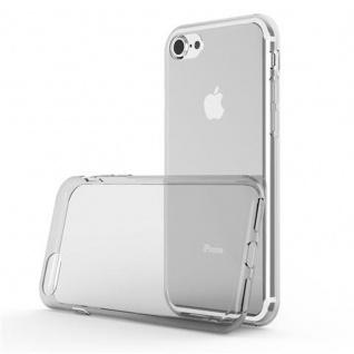 Cadorabo Hülle für Apple iPhone 7 / iPhone 7S / iPhone 8 - Hülle in VOLL TRANSPARENT ? Handyhülle aus TPU Silikon im Ultra Slim 'AIR' Design - Ultra Slim Soft Backcover Case Bumper