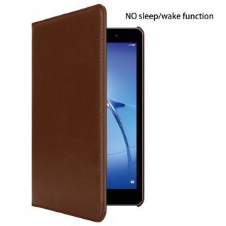 """"""" Cadorabo Tablet Hülle für Huawei MediaPad T3 8 (8, 0"""" Zoll) in PILZ BRAUN ? Book Style Schutzhülle OHNE Auto Wake Up mit Standfunktion und Gummiband Verschluss"""" - Vorschau 2"""