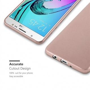 Cadorabo Hülle für Samsung Galaxy J5 2016 in METALLIC ROSÉ GOLD - Handyhülle aus flexiblem TPU Silikon - Silikonhülle Schutzhülle Ultra Slim Soft Back Cover Case Bumper - Vorschau 2