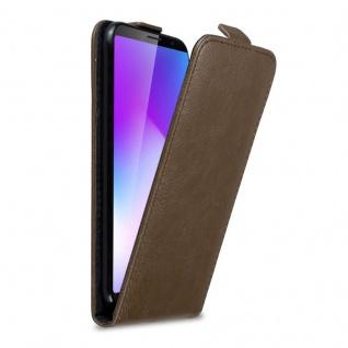 Cadorabo Hülle für Cubot Power in KAFFEE BRAUN Handyhülle im Flip Design mit Magnetverschluss Case Cover Schutzhülle Etui Tasche Book Klapp Style