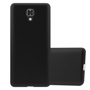 Cadorabo Hülle für LG X SCREEN in METALLIC SCHWARZ - Handyhülle aus flexiblem TPU Silikon - Silikonhülle Schutzhülle Ultra Slim Soft Back Cover Case Bumper