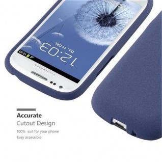 Cadorabo Hülle für Samsung Galaxy S3 MINI in FROST DUNKEL BLAU - Handyhülle aus flexiblem TPU Silikon - Silikonhülle Schutzhülle Ultra Slim Soft Back Cover Case Bumper - Vorschau 2