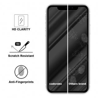 Cadorabo Panzer Folie für Apple iPhone XR - Schutzfolie in KRISTALL KLAR - Gehärtetes (Tempered) Display-Schutzglas in 9H Härte mit 3D Touch Kompatibilität - Vorschau 3