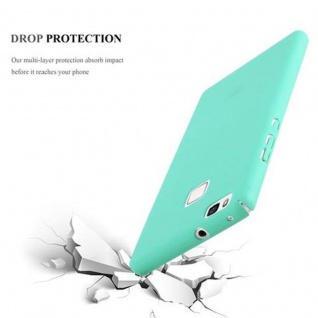 Cadorabo Hülle für Huawei P9 LITE in FROSTY GRÜN - Hardcase Handyhülle aus Plastik gegen Kratzer und Stöße - Schutzhülle Bumper Ultra Slim Back Case Hard Cover - Vorschau 4