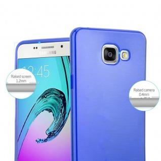 Cadorabo Hülle für Samsung Galaxy A5 2016 in BLAU - Handyhülle aus flexiblem TPU Silikon - Silikonhülle Schutzhülle Ultra Slim Soft Back Cover Case Bumper - Vorschau 2