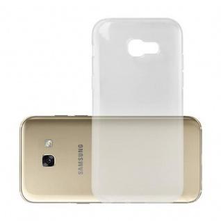 Cadorabo Hülle für Samsung Galaxy A5 2017 in VOLL TRANSPARENT - Handyhülle aus flexiblem TPU Silikon - Silikonhülle Schutzhülle Ultra Slim Soft Back Cover Case Bumper