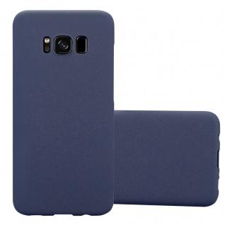 Cadorabo Hülle für Samsung Galaxy S8 in FROSTY BLAU - Hardcase Handyhülle aus Plastik gegen Kratzer und Stöße - Schutzhülle Bumper Ultra Slim Back Case Hard Cover