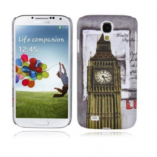 Cadorabo - Hard Cover für Samsung Galaxy S4 - Case Cover Schutzhülle Bumper im Design: LONDON - BIG BEN