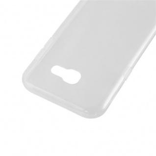 Cadorabo Hülle für Samsung Galaxy A3 2017 in VOLL TRANSPARENT - Handyhülle aus flexiblem TPU Silikon - Silikonhülle Schutzhülle Ultra Slim Soft Back Cover Case Bumper - Vorschau 5