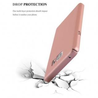 Cadorabo Hülle für Samsung Galaxy NOTE 5 in METALL ROSE GOLD ? Hardcase Handyhülle aus Plastik gegen Kratzer und Stöße ? Schutzhülle Bumper Ultra Slim Back Case Hard Cover - Vorschau 5