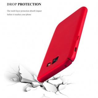 Cadorabo Hülle für Samsung Galaxy A3 2017 in METALL ROT ? Hardcase Handyhülle aus Plastik gegen Kratzer und Stöße ? Schutzhülle Bumper Ultra Slim Back Case Hard Cover - Vorschau 5