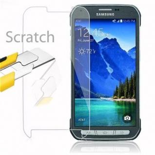 Cadorabo Panzer Folie für Samsung Galaxy S5 Active - Schutzfolie in KRISTALL KLAR - Gehärtetes (Tempered) Display-Schutzglas in 9H Härte mit 3D Touch Kompatibilität - Vorschau 2