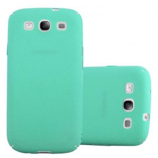 Cadorabo Hülle für Samsung Galaxy S3 / S3 NEO in FROSTY GRÜN - Hardcase Handyhülle aus Plastik gegen Kratzer und Stöße - Schutzhülle Bumper Ultra Slim Back Case Hard Cover