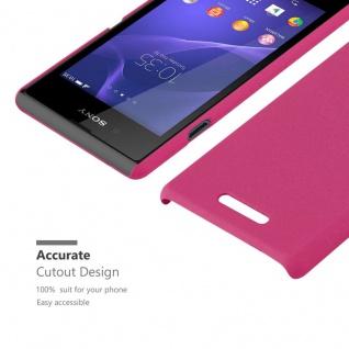 Cadorabo Hülle für Sony Xperia E3 in FROSTY PINK - Hardcase Handyhülle aus Plastik gegen Kratzer und Stöße - Schutzhülle Bumper Ultra Slim Back Case Hard Cover - Vorschau 5
