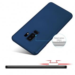 Cadorabo Hülle für Samsung Galaxy S9 PLUS in METALL BLAU - Hardcase Handyhülle aus Plastik gegen Kratzer und Stöße - Schutzhülle Bumper Ultra Slim Back Case Hard Cover - Vorschau 4