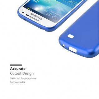 Cadorabo Hülle für Samsung Galaxy S4 in METALLIC BLAU - Handyhülle aus flexiblem TPU Silikon - Silikonhülle Schutzhülle Ultra Slim Soft Back Cover Case Bumper - Vorschau 2