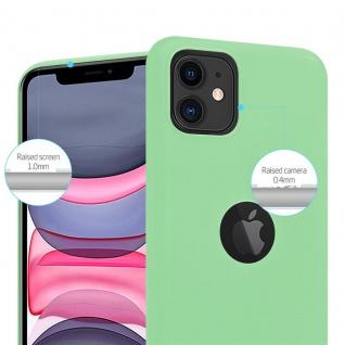 Cadorabo Hülle für Apple iPhone 11 (XI) in CANDY PASTELL GRÜN - Handyhülle aus flexiblem TPU Silikon - Silikonhülle Schutzhülle Ultra Slim Soft Back Cover Case Bumper - Vorschau 5