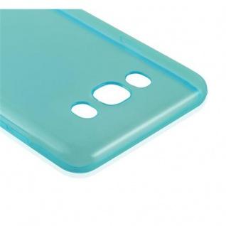 Cadorabo Hülle für Samsung Galaxy J7 2016 in TRANSPARENT BLAU - Handyhülle aus flexiblem TPU Silikon - Silikonhülle Schutzhülle Ultra Slim Soft Back Cover Case Bumper - Vorschau 4
