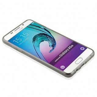 Cadorabo Hülle für Samsung Galaxy A5 2016 in TRANSPARENT SCHWARZ - Handyhülle aus flexiblem TPU Silikon - Silikonhülle Schutzhülle Ultra Slim Soft Back Cover Case Bumper - Vorschau 4