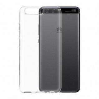 Cadorabo Hülle für Huawei P10 PLUS - Hülle in VOLL TRANSPARENT ? Handyhülle aus TPU Silikon im Ultra Slim 'AIR' Design - Ultra Slim Soft Backcover Case Bumper