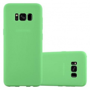 Cadorabo Hülle für Samsung Galaxy S8 PLUS in CANDY PASTELL GRÜN - Handyhülle aus flexiblem TPU Silikon - Silikonhülle Schutzhülle Ultra Slim Soft Back Cover Case Bumper