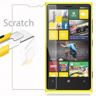 Cadorabo Panzer Folie für Nokia Lumia 920 - Schutzfolie in KRISTALL KLAR - Gehärtetes (Tempered) Display-Schutzglas in 9H Härte mit 3D Touch Kompatibilität - Vorschau 2