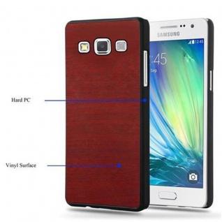 Cadorabo Hülle für Samsung Galaxy A5 2015 in WOODY ROT ? Hardcase Handyhülle aus Plastik gegen Kratzer und Stöße ? Schutzhülle Bumper Ultra Slim Back Case Hard Cover - Vorschau 5