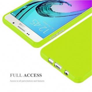 Cadorabo Hülle für Samsung Galaxy A3 2016 in JELLY GRÜN ? Handyhülle aus flexiblem TPU Silikon ? Silikonhülle Schutzhülle Ultra Slim Soft Back Cover Case Bumper - Vorschau 4