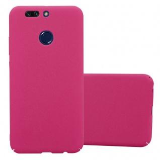 Cadorabo Hülle für Honor 8 PRO in FROSTY PINK - Hardcase Handyhülle aus Plastik gegen Kratzer und Stöße - Schutzhülle Bumper Ultra Slim Back Case Hard Cover