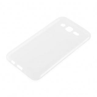 Cadorabo Hülle für Samsung Galaxy J3 2015 in VOLL TRANSPARENT - Handyhülle aus flexiblem TPU Silikon - Silikonhülle Schutzhülle Ultra Slim Soft Back Cover Case Bumper - Vorschau 2
