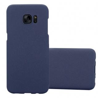 Cadorabo Hülle für Samsung Galaxy S7 EDGE in FROSTY BLAU - Hardcase Handyhülle aus Plastik gegen Kratzer und Stöße - Schutzhülle Bumper Ultra Slim Back Case Hard Cover