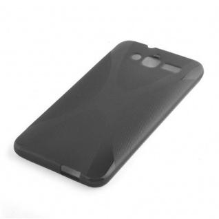Cadorabo Hülle für Huawei ASCEND GX 1 in OXID SCHWARZ ? Handyhülle aus flexiblem TPU Silikon ? Silikonhülle Schutzhülle Ultra Slim Soft Back Cover Case Bumper - Vorschau 2